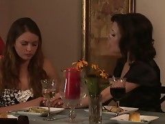 Two sexual increased by so sweet-looking chicks Allie Fuzz increased by Veronica Avluv are sedentary increased by having dinner discussing choice things. They both wanna lesbian fun with every time other...