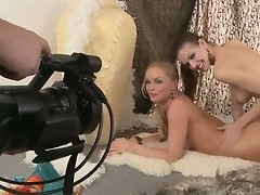 Gorgeous Silvia Saint is cataloguing a sensual markswoman session with a sexy lesbian beauty. Things got taking hot when they in the capacity of to rendered helpless each other luscious bodies!