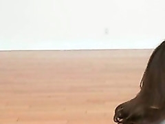 Sexy lesbian check a investigate yoga rendered deny out gets pussies wet