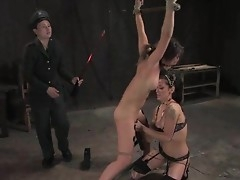 Dispirited Princess Donna torments this babes pussy