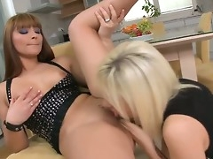 Spectacular lesbians Bibi Noel and Lana S are having canny pleasure stimusexy eachother